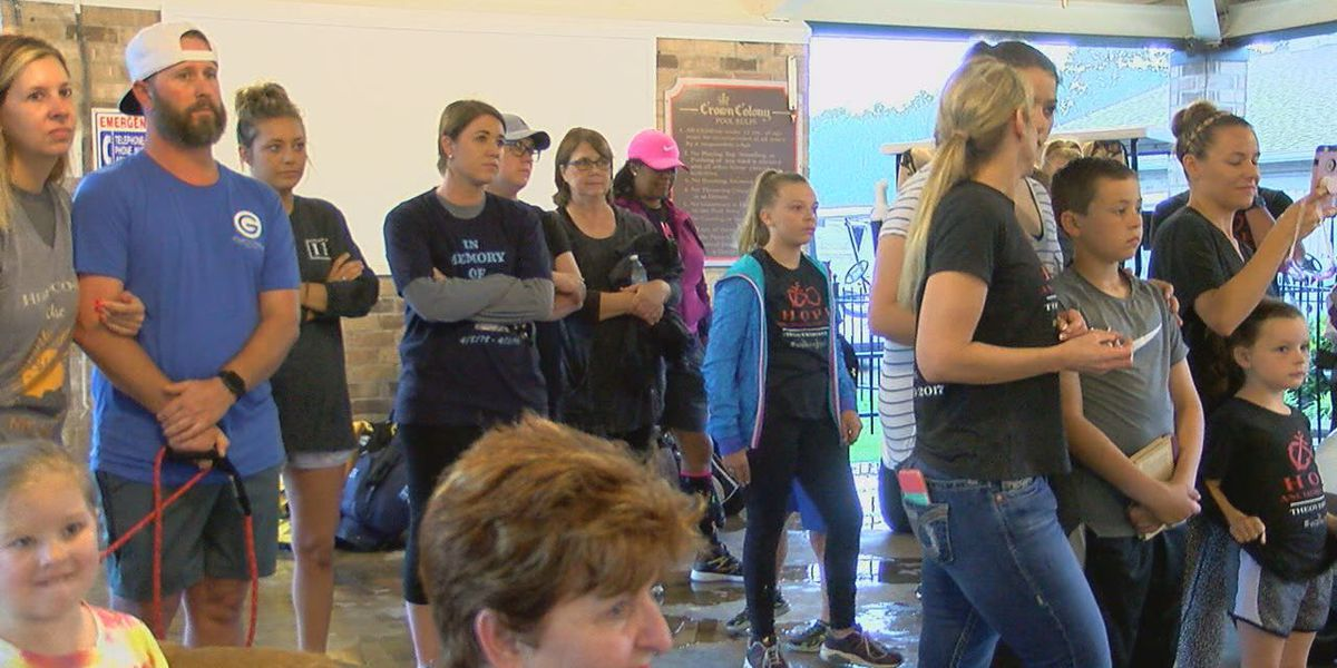Lufkin community walks to bring awareness to suicide prevention