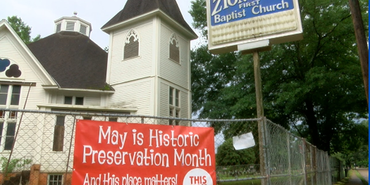 Nacogdoches Historic Sites observing Historic Preservation month