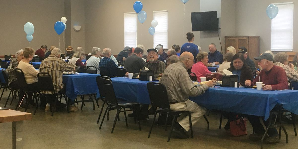 Nutrition based congregate meals available at Angelina County Senior Center