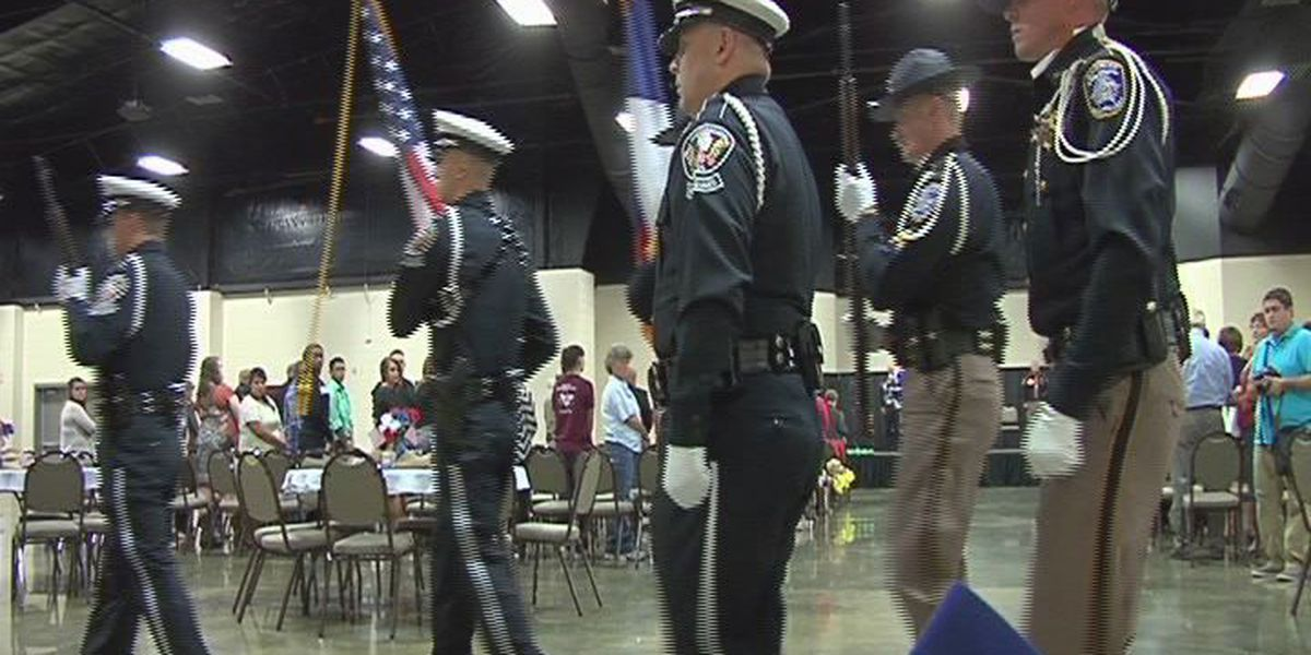 Nacogdoches Combined Area law Enforcement honors 10 officers killed on duty