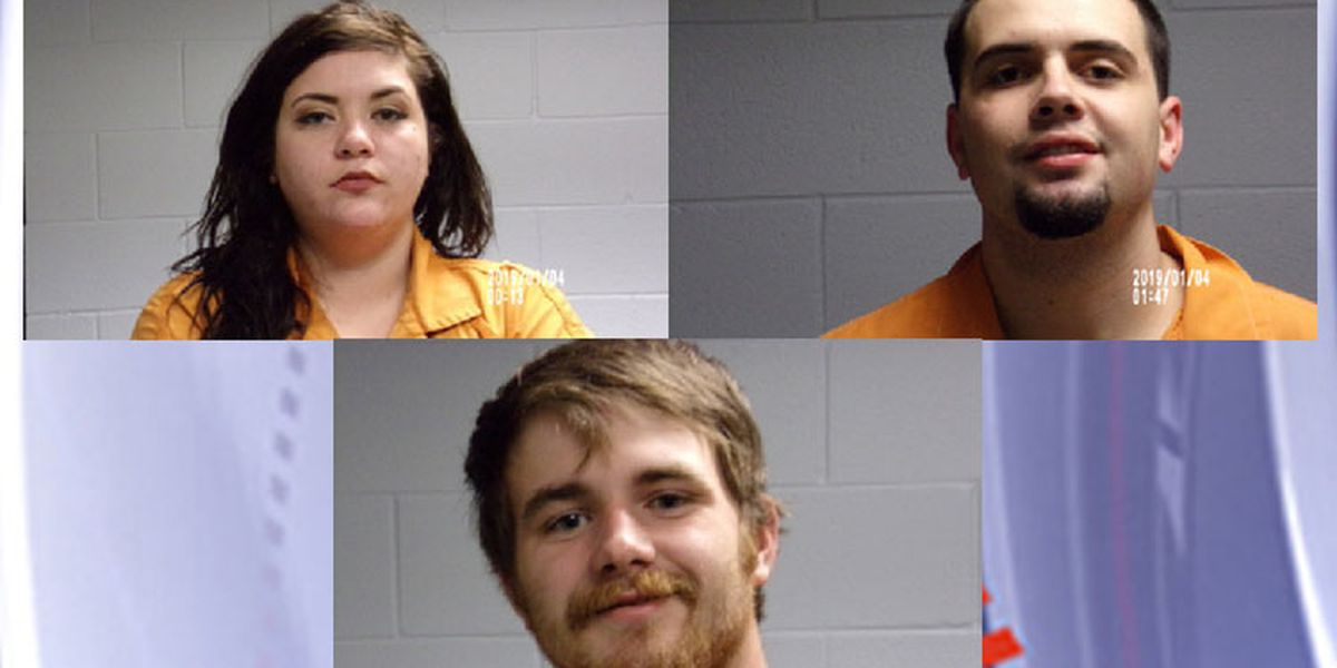 Livingston PD Three people arrested in connection to 2-county crime spree