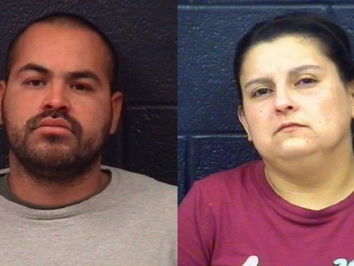 Parents arrested after 3-year-old's body found in container of acid, police say
