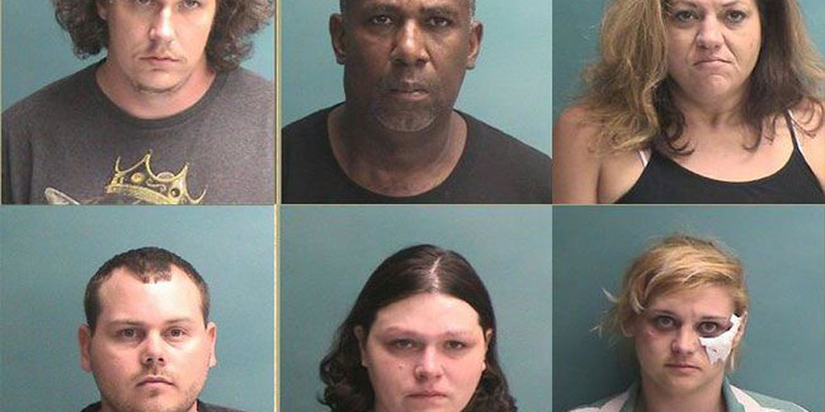 Nacogdoches PD's undercover prostitution sting results in six arrests