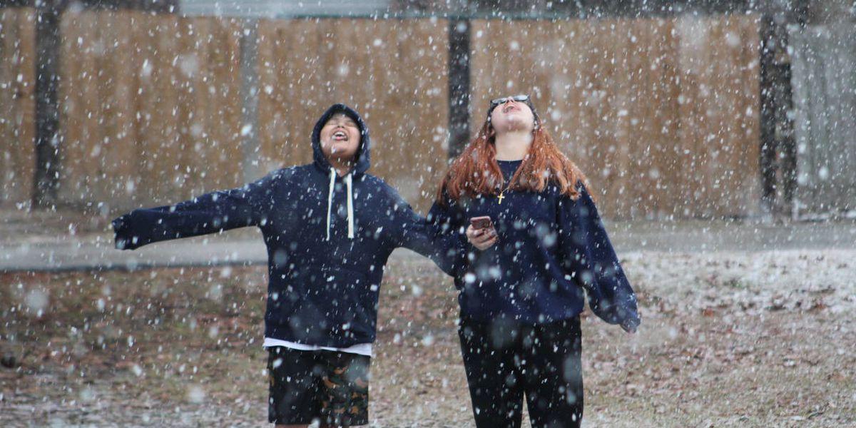 PHOTOS: East Texans show off beautiful photos of snow
