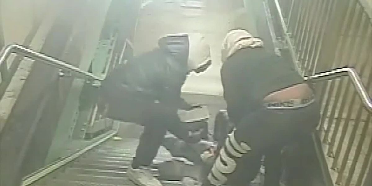 Video: 2 tourists attacked at NY subway stop