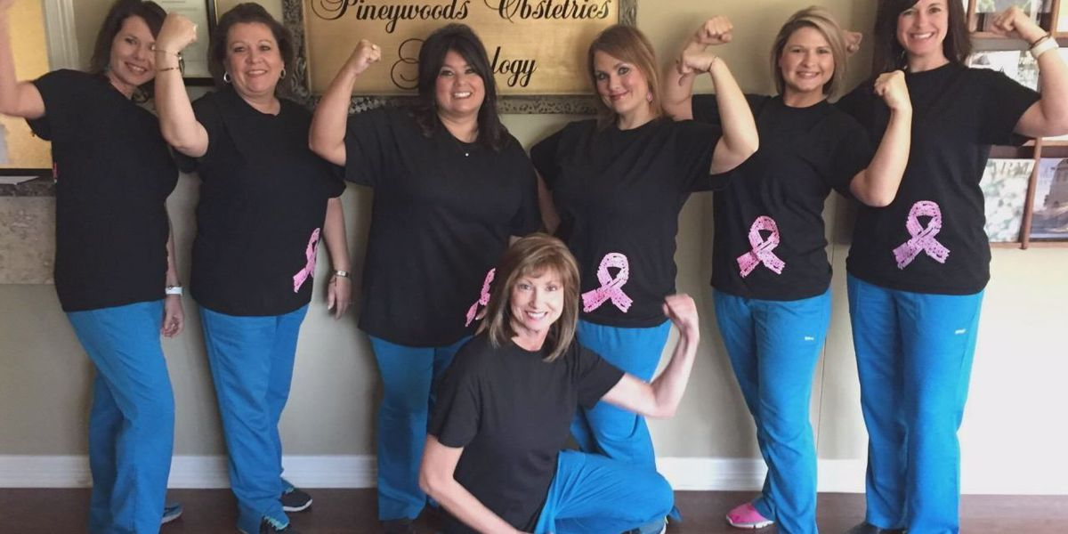 Dr. Suiter uses her fight with breast cancer to raise money for cancer research