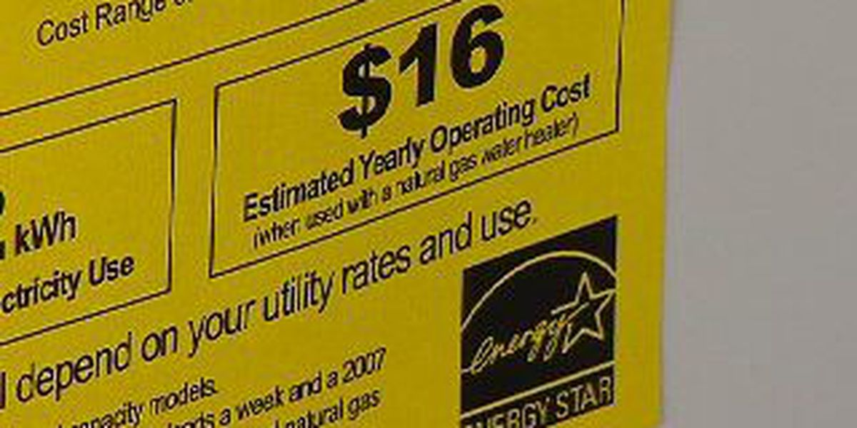Memorial Day weekend marks tax holiday on certain ENERGY STAR appliances for Texans