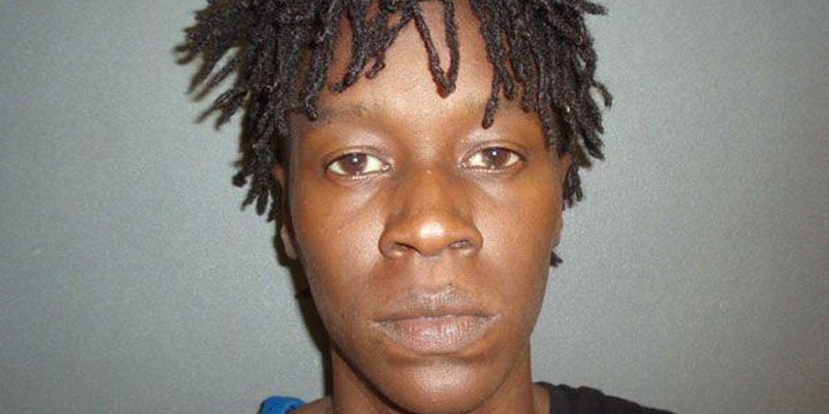 Affidavit: Woman arrested on child endangerment charge after Crockett traffic stop