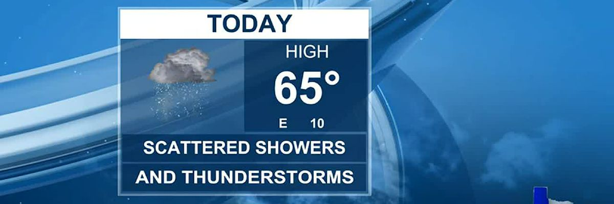 Afternoon Weather at your Fingertips Friday 4-16-21
