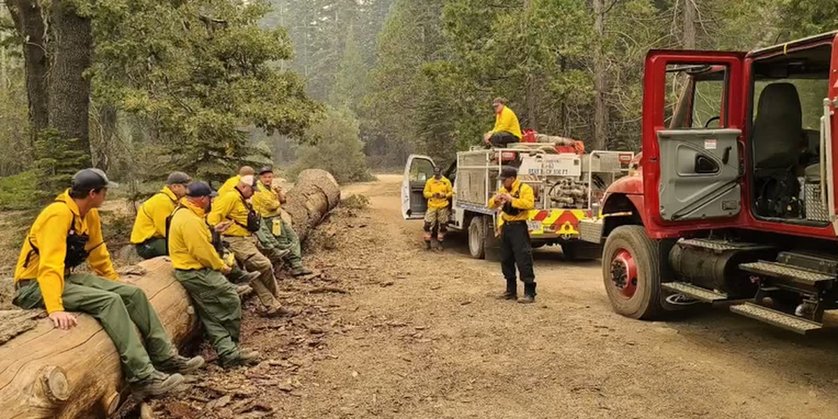 More Nacogdoches firefighters return home after fighting wildfires in California