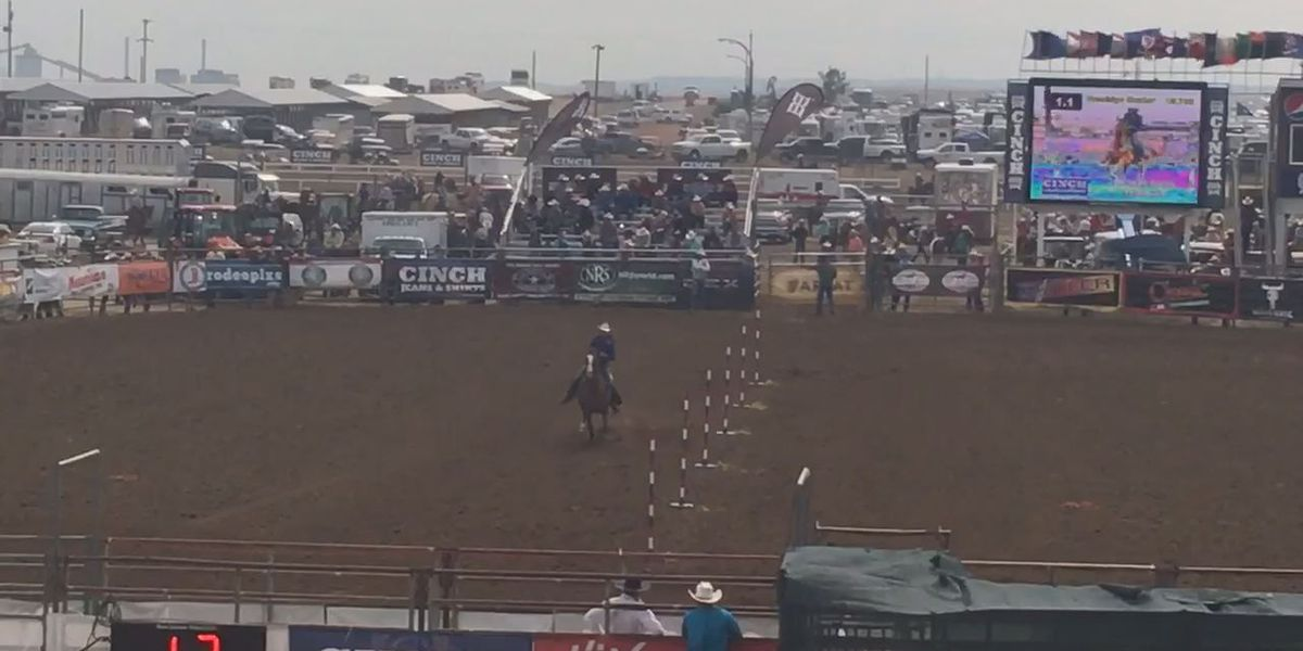 Lufkin Teen in 4th heading into final day of National High School Finals Rodeo
