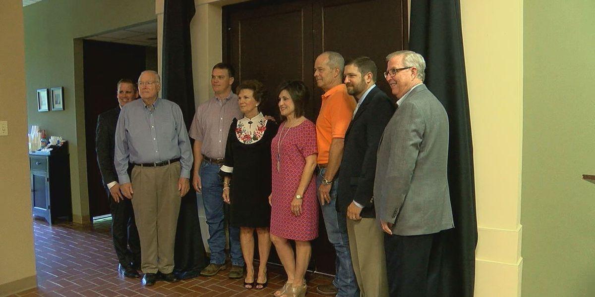Lufkin Angelina County Chamber of Commerce dedicates boardroom