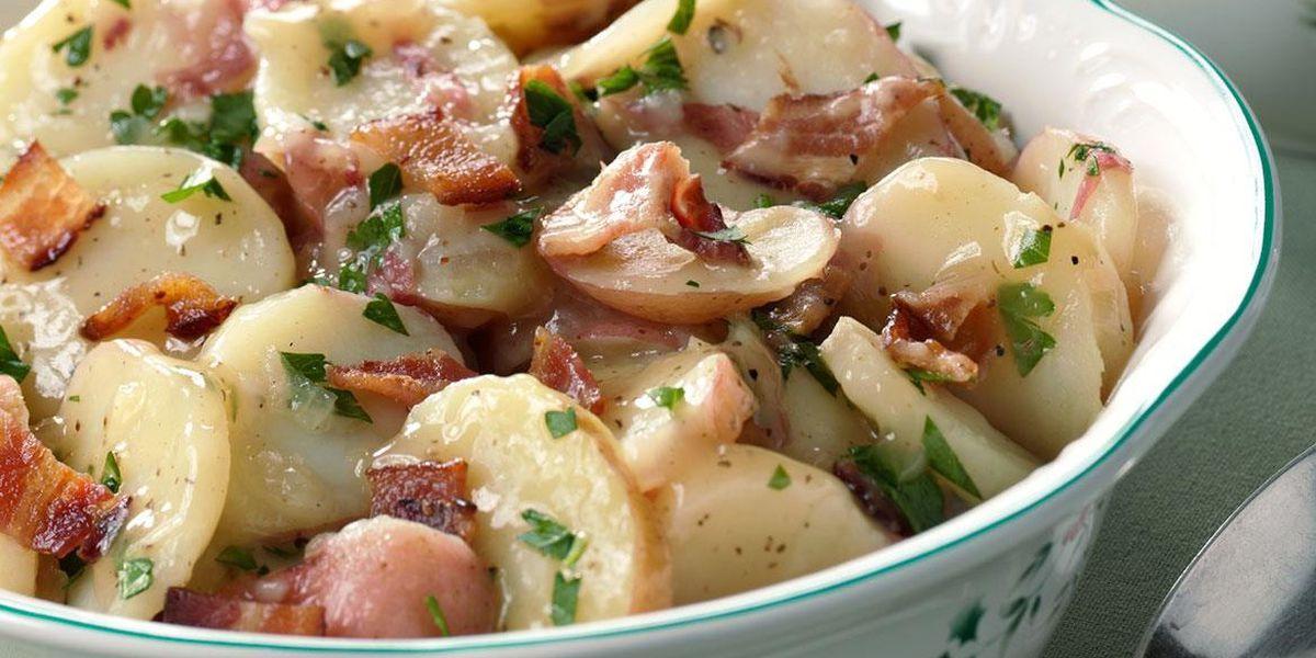 German potato salad by Brigitta's Hungarian Restaurant