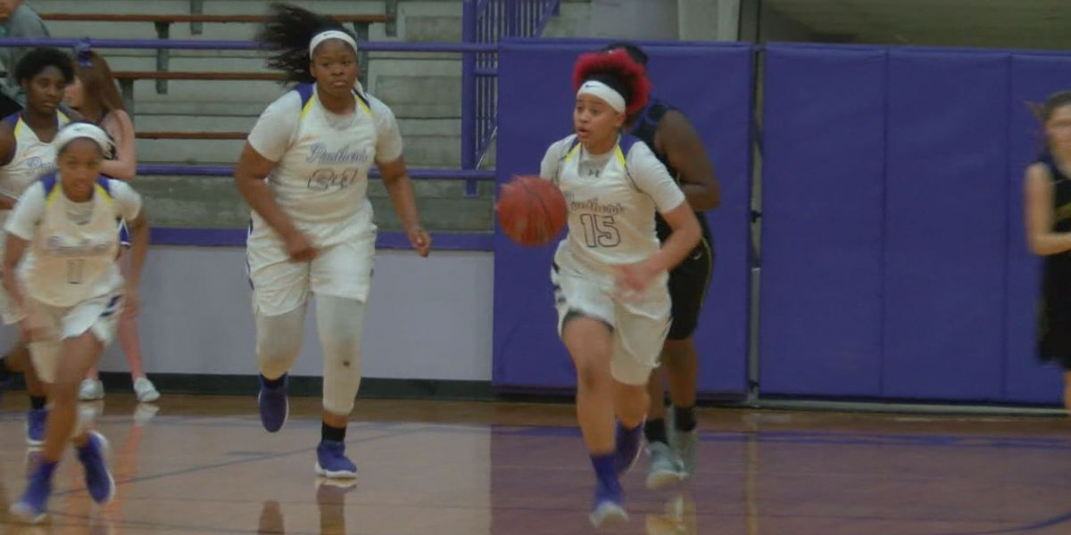 Lady Pack topple Montgomery to earn share of district championship