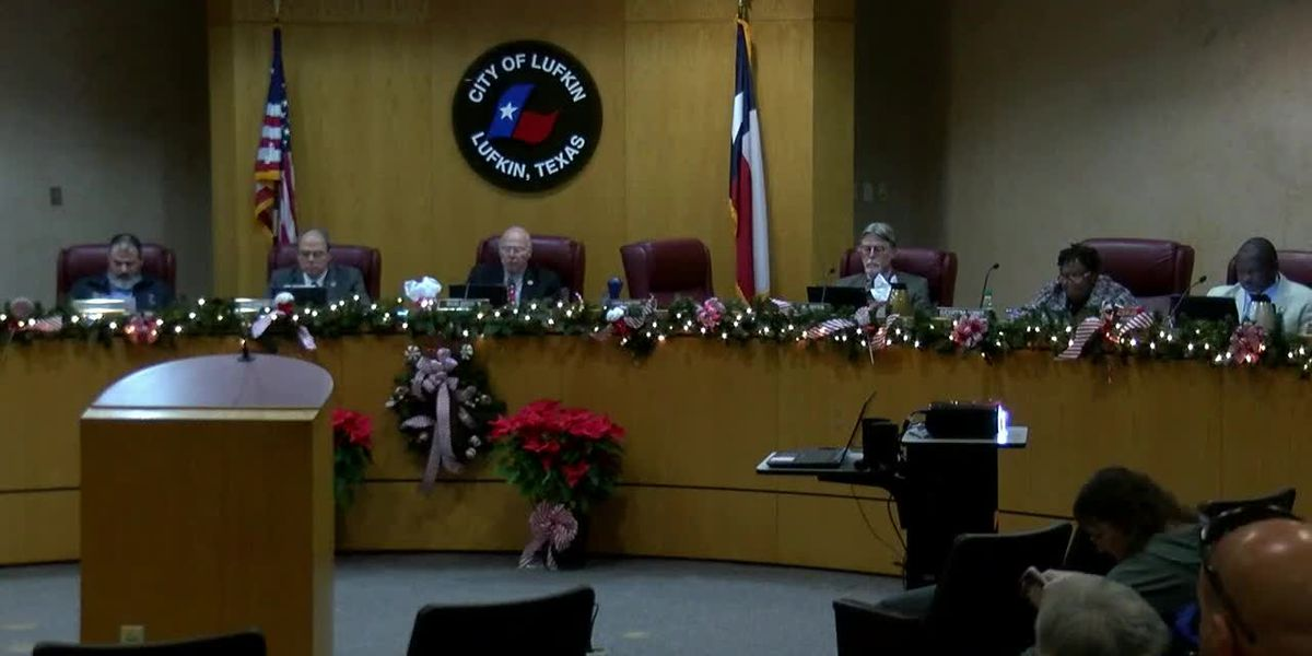 Lufkin community members propose street overlay program to city council
