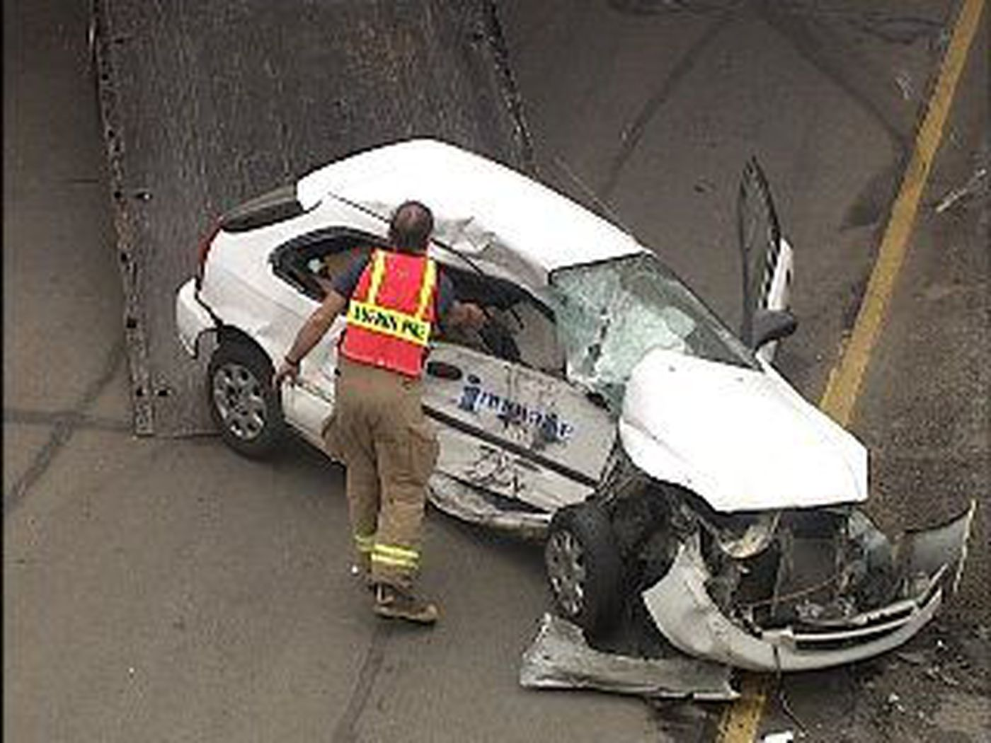 18 Wheeler and Car Involved in Loop Accident in Lufkin