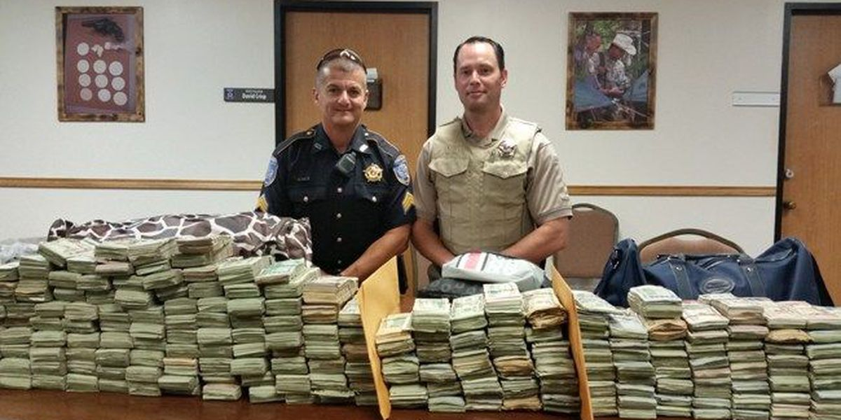 Nacogdoches Sheriff's Office seizes over $1M in suspected drug money