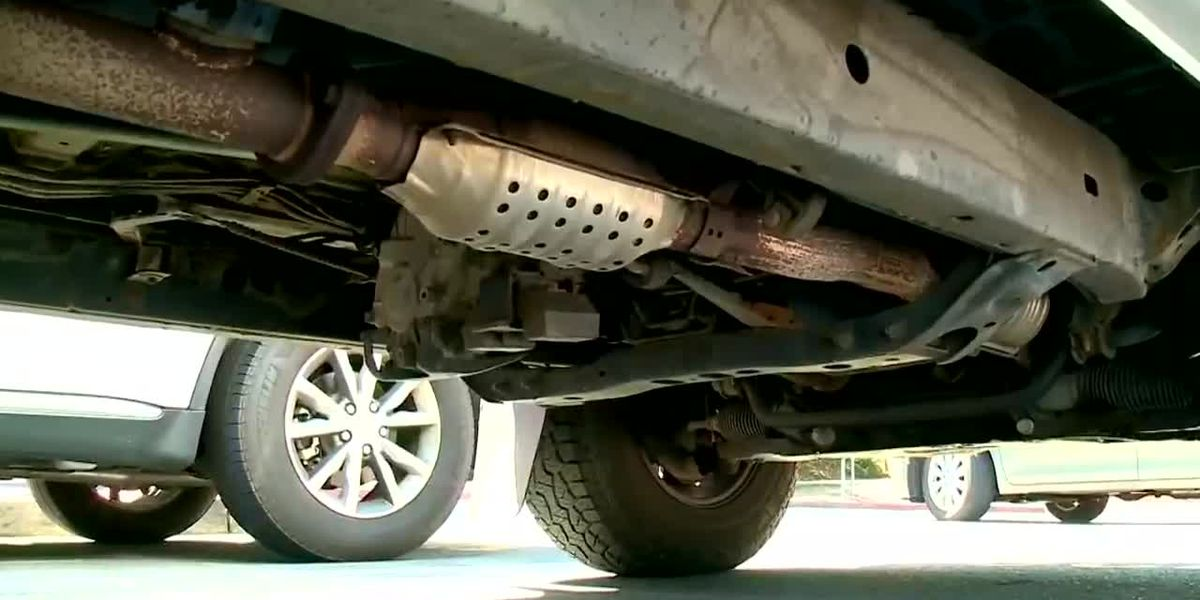 East Texas not spared from growing wave of catalytic converter thefts