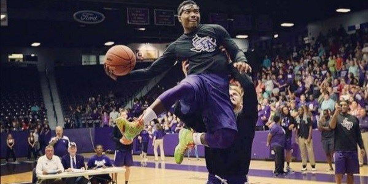 Thomas-Trey tag team reigns for SFA Basketball