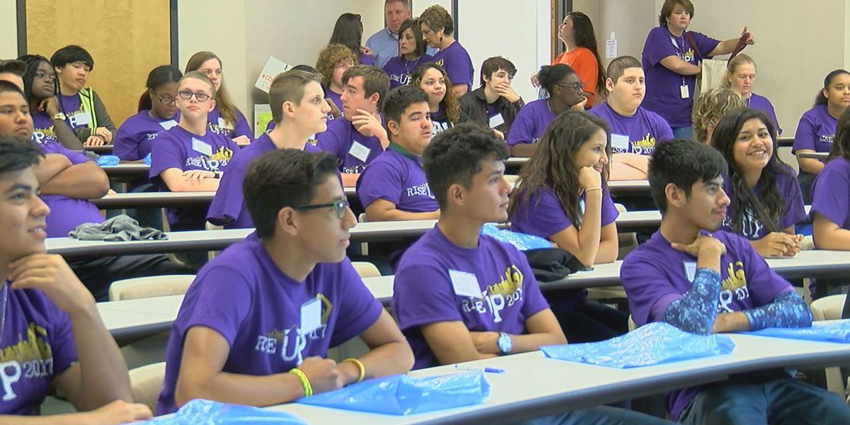 Angelina College hosts over 500 high school students during campus' Gear Up Program