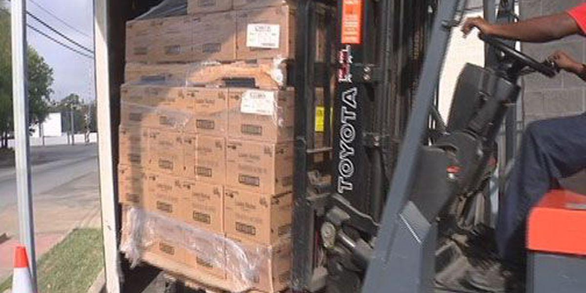 East Texas grocery chain donates 300 boxes of potato flakes to CISC