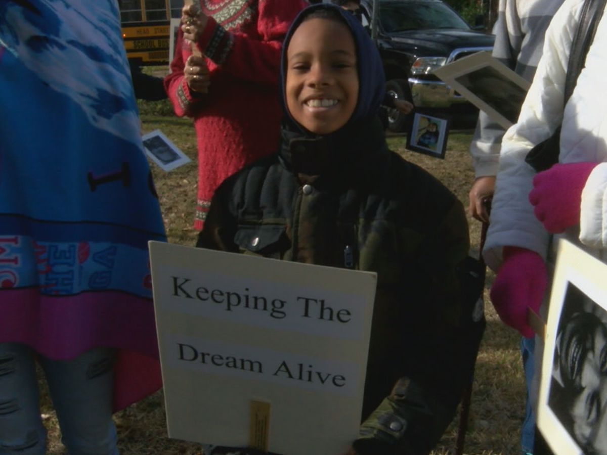 Nacogdoches MLK Jr. Day prayers, march, speeches and service day exemplify his teachings