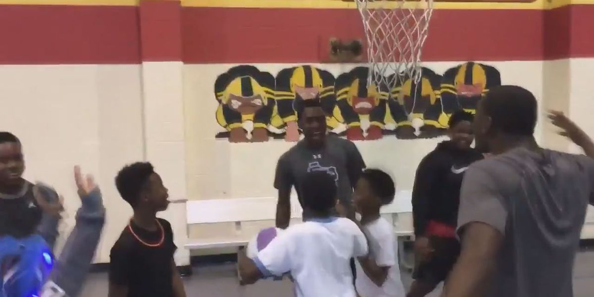 SFA's Cameron Mack comes in clutch for Boys and Girls Club