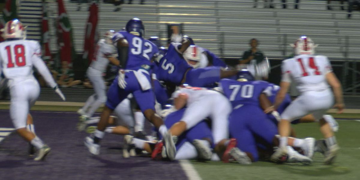 Lufkin gives up first half lead, falls to #9 The Woodlands