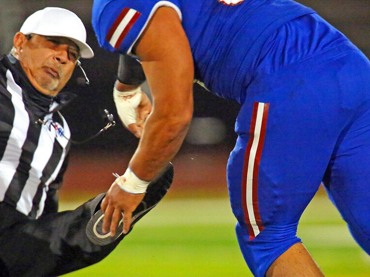 South Texas prep football player attacks referee