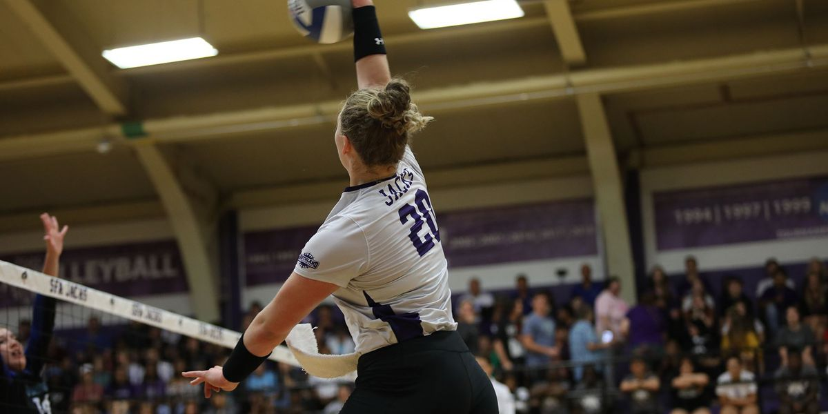 SFA Volleyball's massive rally proves what this team can do