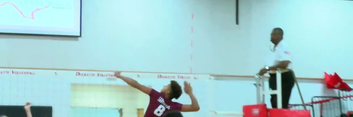 Web exclusive - Grapeland beats Huntington in volleyball