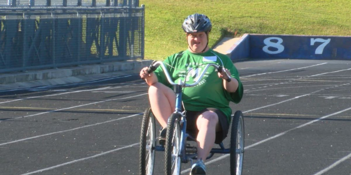 Athletes hit the track at Abe Martin for Special Olympics