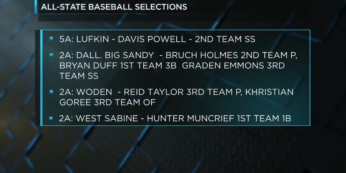 All-State baseball selections