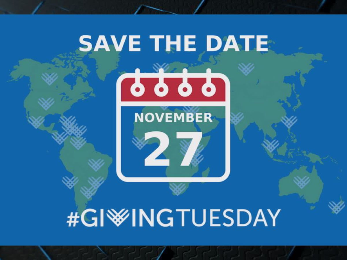 Giving Tuesday sets reminder for charitable giving