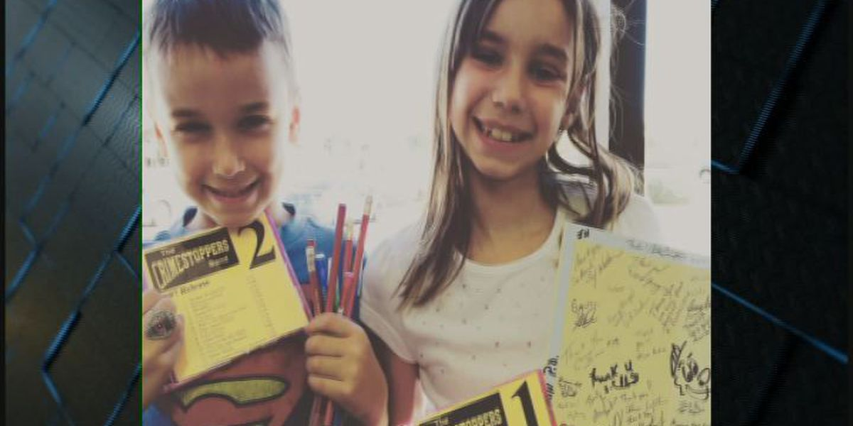 Lufkin PD receives 'appreciation cards' from AZ siblings, returns the favor
