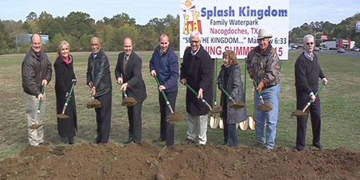 Nacogdoches breaks ground on proposed Splash Kingdom water park