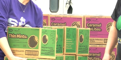Over 20,000 Girl Scout cookies delivered in Lufkin