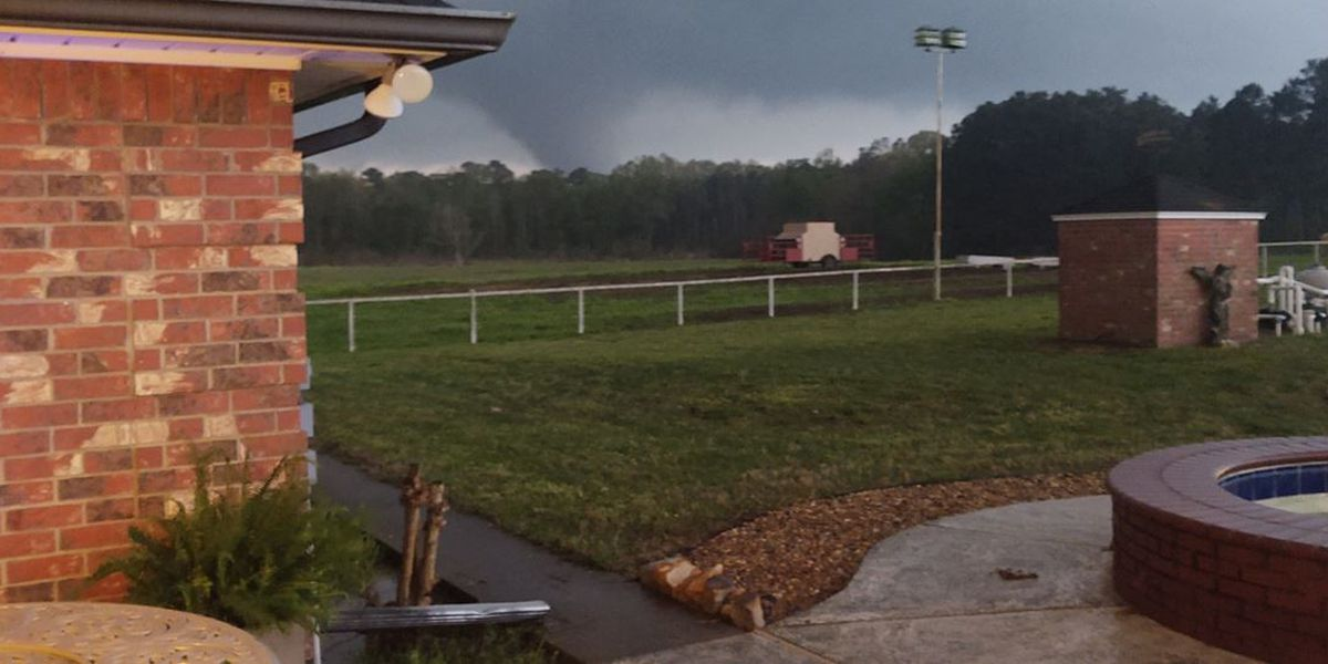 Storm damage reported in counties of Cherokee, Rusk