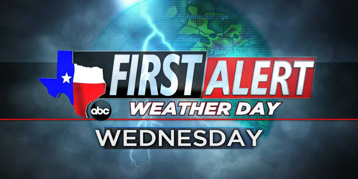 Hail, high winds possible Wednesday as storms roll through state