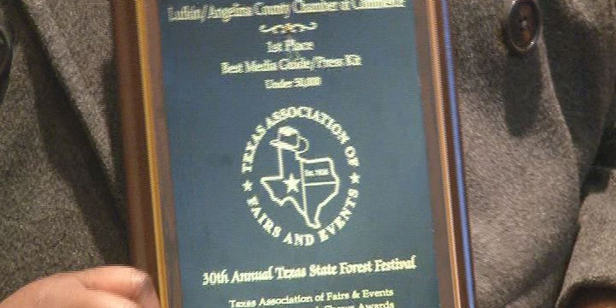 Lufkin's Texas Forest Festival gets top honors