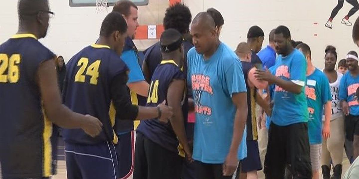 Special Olympics Texas holds basketball tournament in Nacogdoches