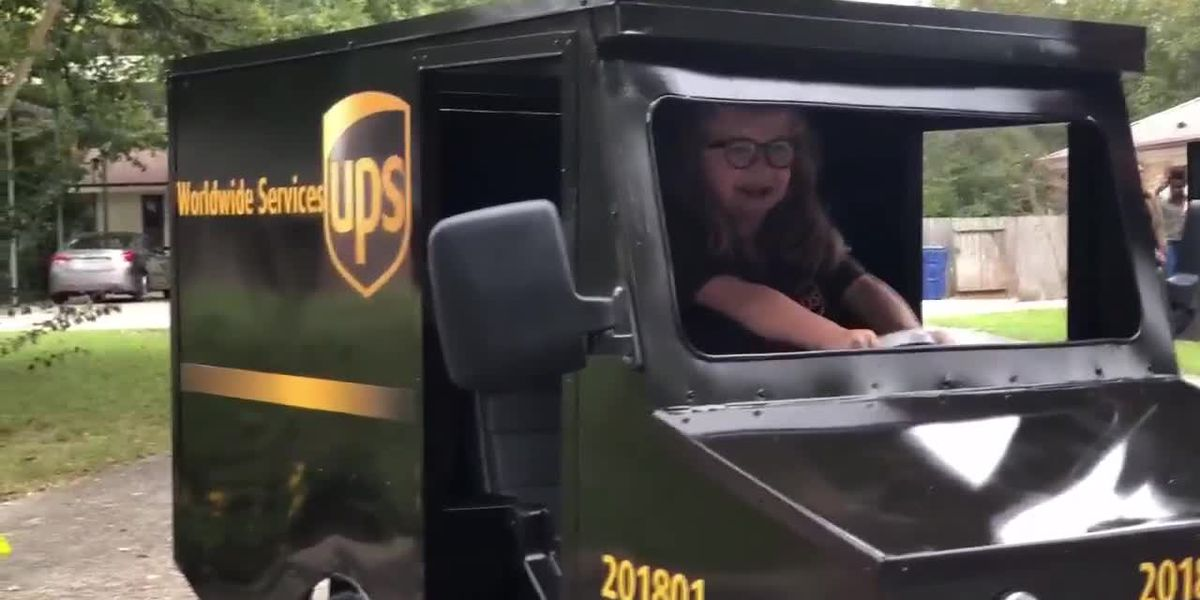 UPS driver and 6 year old