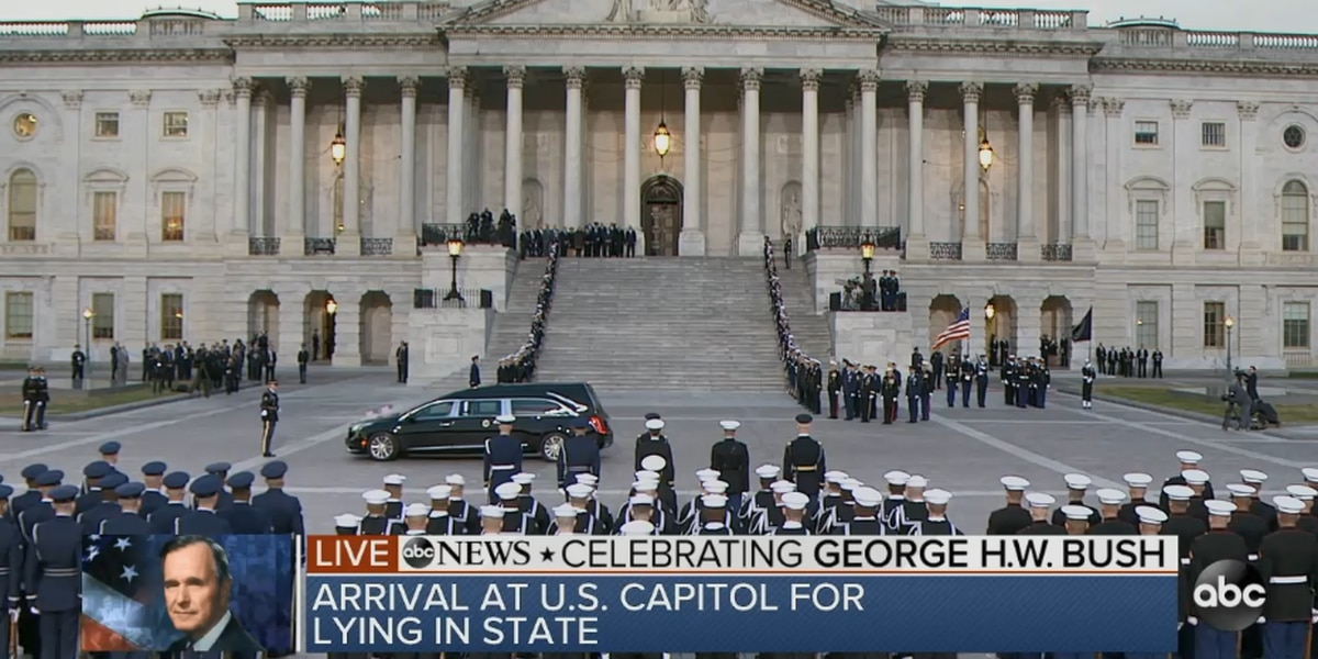 Remembering Bush: Nation pays respects to 41st president