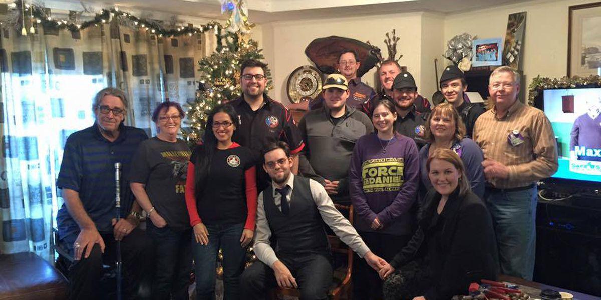 'Star Wars' actor, wife, invite late SFA grad's widow to their Texas farmhouse