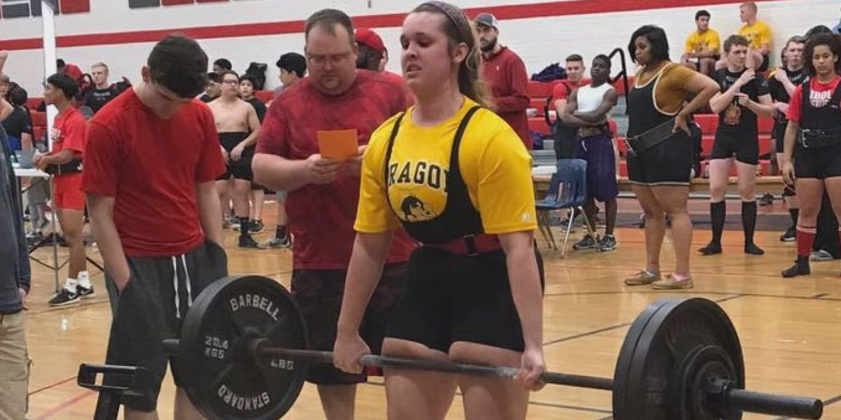 Girl Power: Nacogdoches freshman becomes first female powerlifter for school