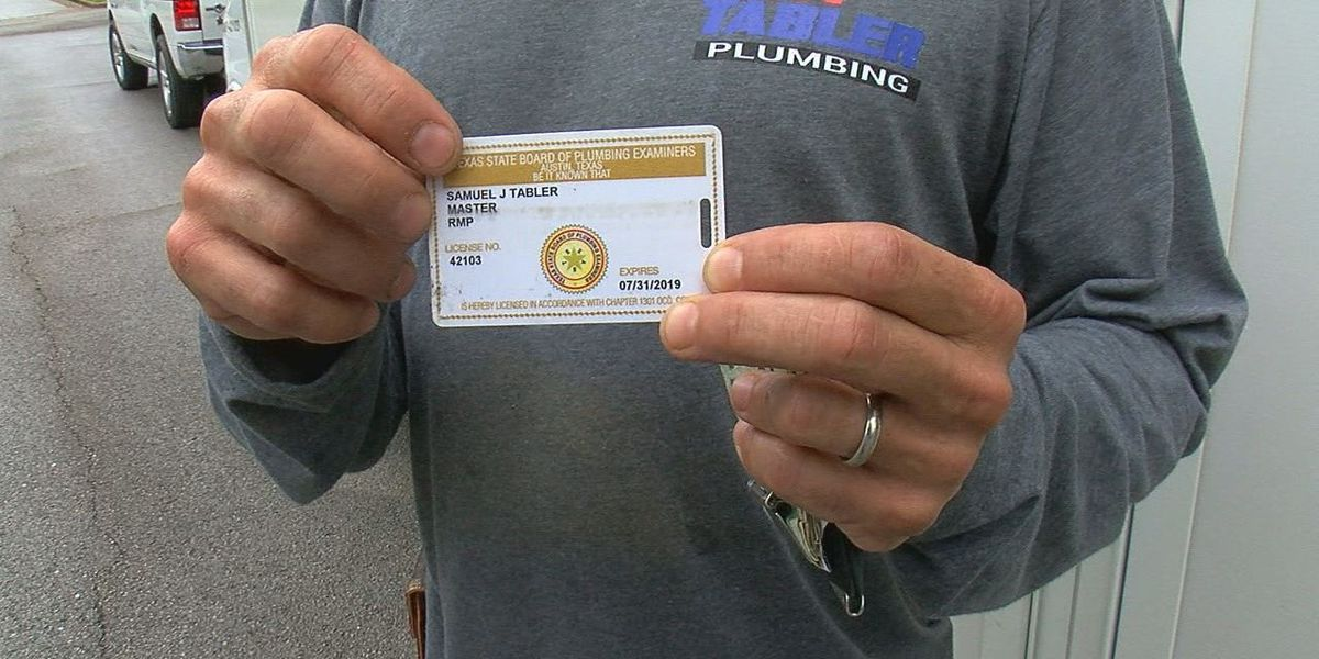 East Texas plumbers react to potential deregulation: 'We can't allow this to happen'