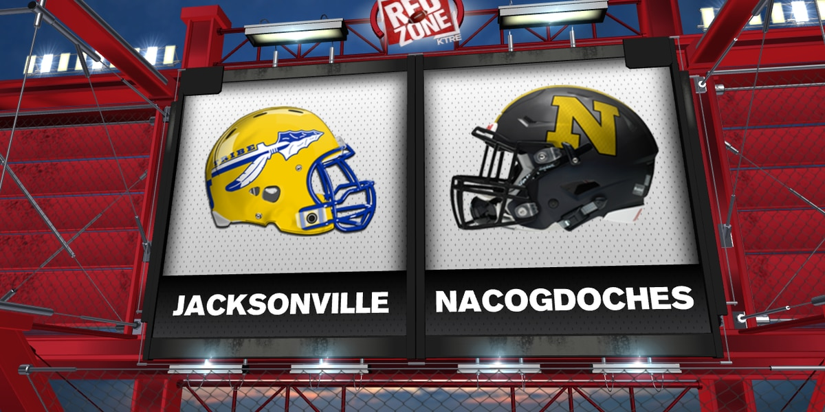 Nacogdoches, Jacksonville meet in Red Zone Week 5 Game of the Week