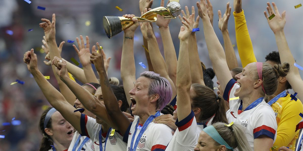 Secret brand deodorant donates $529,000 to US women's soccer to help close pay gap