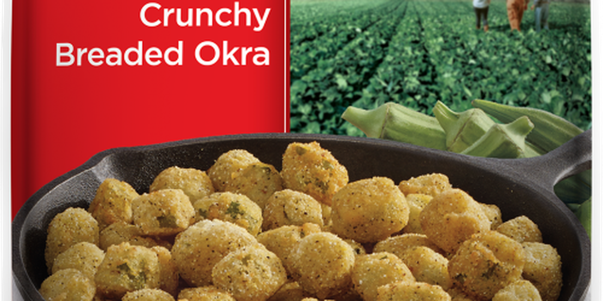 Breaded okra under recall, may contain glass