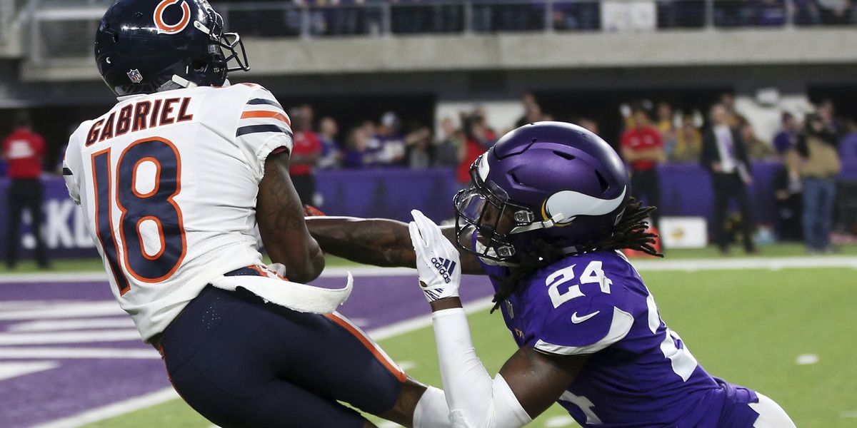 Pedal-down Bears keep Vikings out of playoffs with 24-10 win